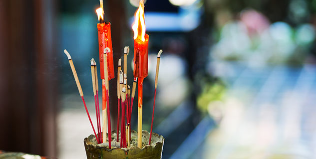 incense stick for heart