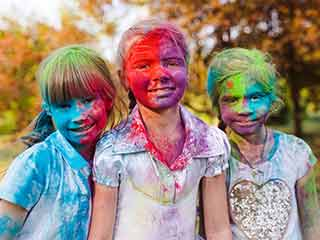 Follow these safety tips for <strong>children</strong> on Holi