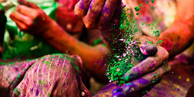 Play holi safely