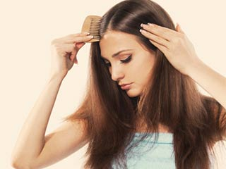 The possible causes of hair loss in women