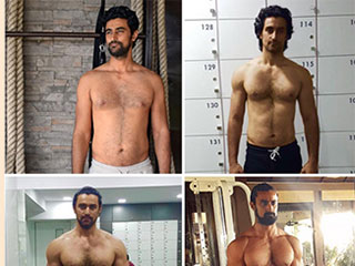 You can not miss Kunal Kapoor's jaw dropping transformation from handsome to hulky warrior