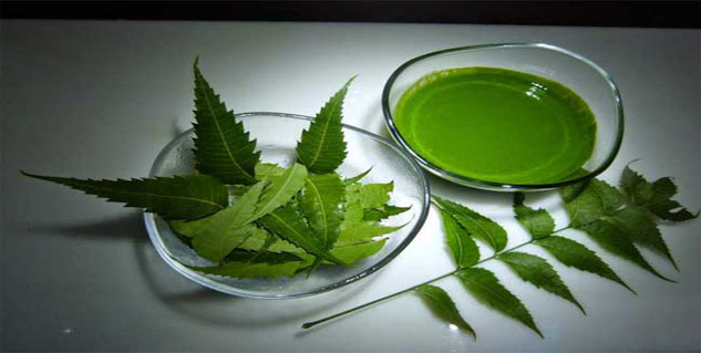 neem water in hindi