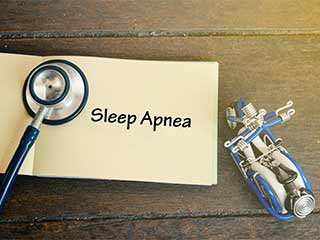 How long does <strong>sleep</strong> apnea last?