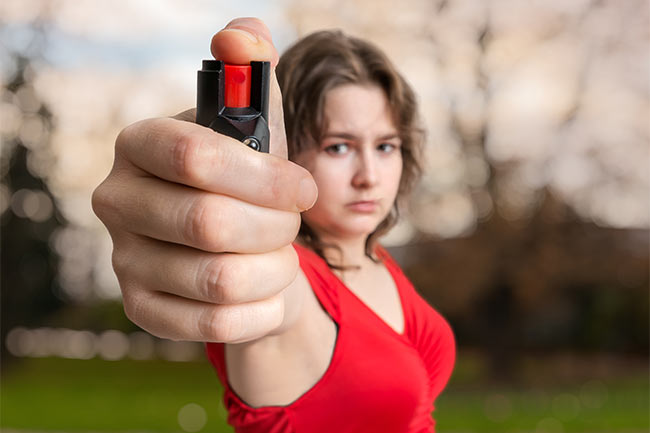 A pepper spray