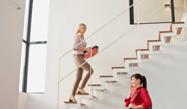 How to lose weight by taking the stairs