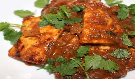 How to make protein rich tofu masala at home