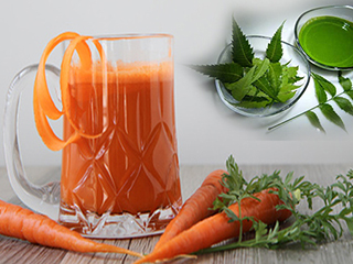 <strong>Healthy</strong> Recipes: Carrot Smoothie