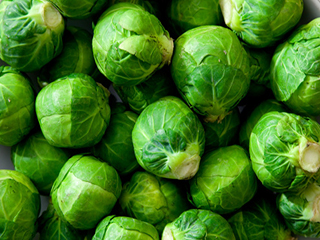 A quick and healthy way to <strong>eat</strong> Brussels sprouts