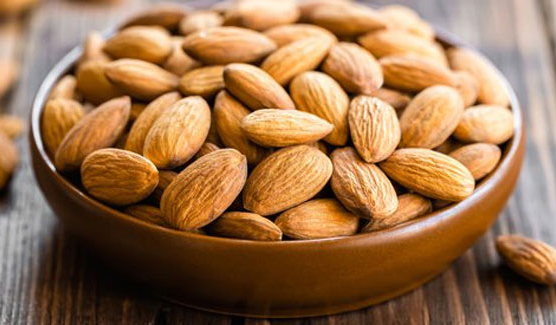 Healthy almond based snacking options