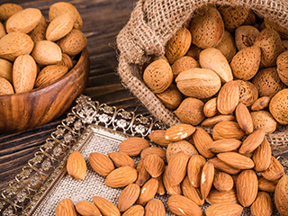 Cholesterol <strong>reducing</strong> properties of almonds