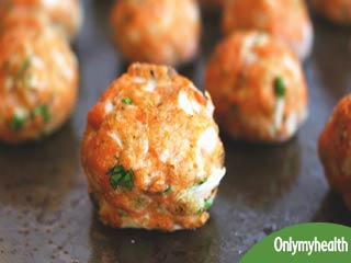Trying to Gain Weight? Eat High Protein Salmon Meatballs