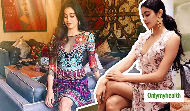 Take Cues from Jhanvi Kapoor on How to Look Chic this Monsoon