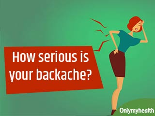 Got an aching back? An underlying serious problem could be <strong>causing</strong> it