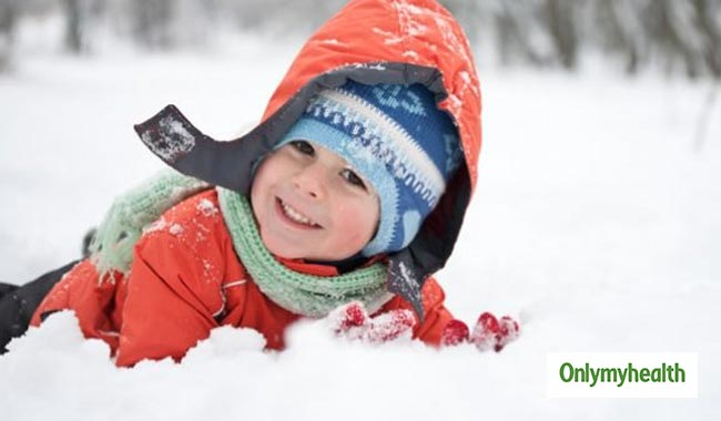 Tips to keep Children Safe during Winters