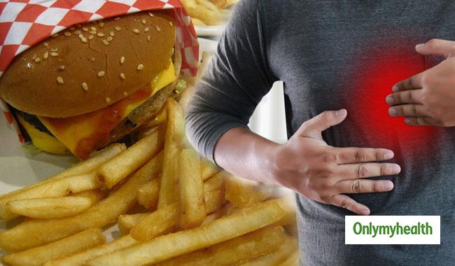 Heartburn Symptoms When Eating Fatty Foods