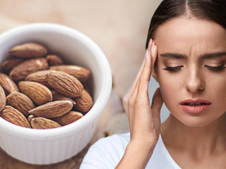 Use almonds to prevent <strong>migraine</strong> naturally