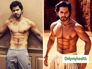 Want Abs like <strong>Varun</strong> <strong>Dhawan</strong>? Here is the secret you are looking for