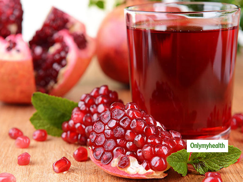 Drinking Pomegranate Juice Daily Can Treat Hypertension & Regulate BP