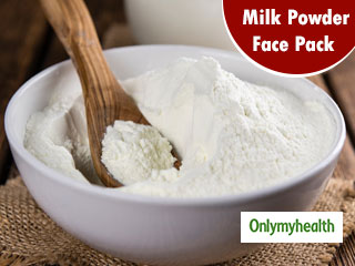 Milk Powder Face Pack To Treat <strong>Skin</strong> Issues And Get A Clear and <strong>Glowing</strong> <strong>Skin</strong>