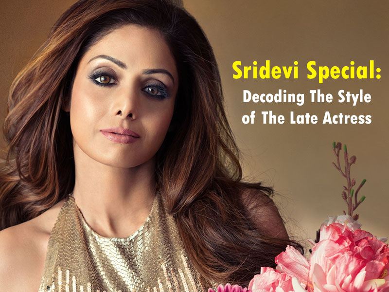 Happy Birthday Sridevi: Remembering The Diva Who Was The Epitome Of Style And Beauty