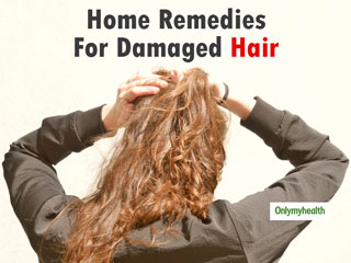 Damaged <strong>Hair</strong> Home Remedies: 5 Home Remedies to Get Rid of Dry, Damaged And Brittle <strong>Hair</strong>