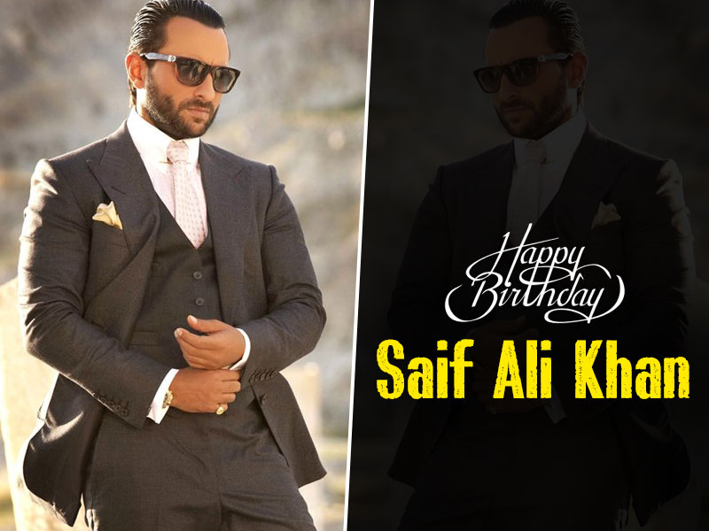 Happy Birthday Saif Ali Khan: Age Is Just A Number For This Nawab Of Pataudi