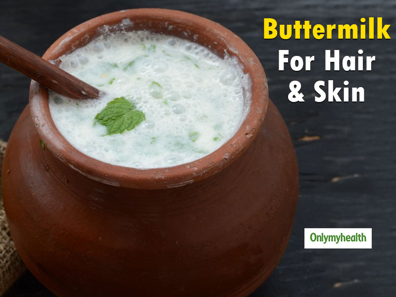 The Usefulness Of Buttermilk For Skin And Hair Problems