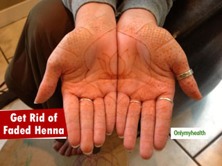 <strong>Get</strong> <strong>Rid</strong> of Fading Henna With These Easy-To-Do Home Remedies
