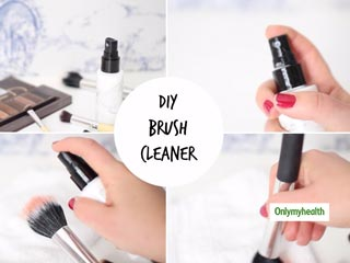 DIY Spray To Sanitise Your <strong>Makeup</strong> Brushes