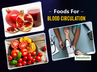 5 <strong>Foods</strong> To Treat Poor Blood Circulation And Prevent Heart Diseases