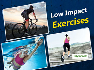 Five Low-Impact Exercises Which Burn Maximum Calories
