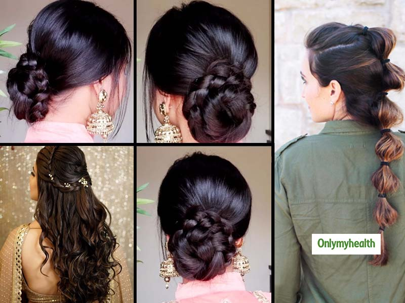 Confused About Styling Your Hair? Try These Easy And Stylish Hairstyles This Wedding Season