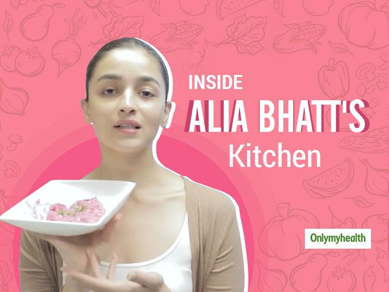Curious To Know What Alia Bhatt Eats? Take A Tour Of Alia Bhatt's Kitchen