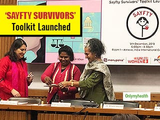#Sayfty4 Survivors: JNM In Collaboration With Twitter India, UN Women & Manupatra Launch the Sayfty Survivors'