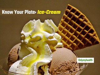 Know Your Plate: The Calorific Content In 1 Scoop Of Ice-<strong>Cream</strong>