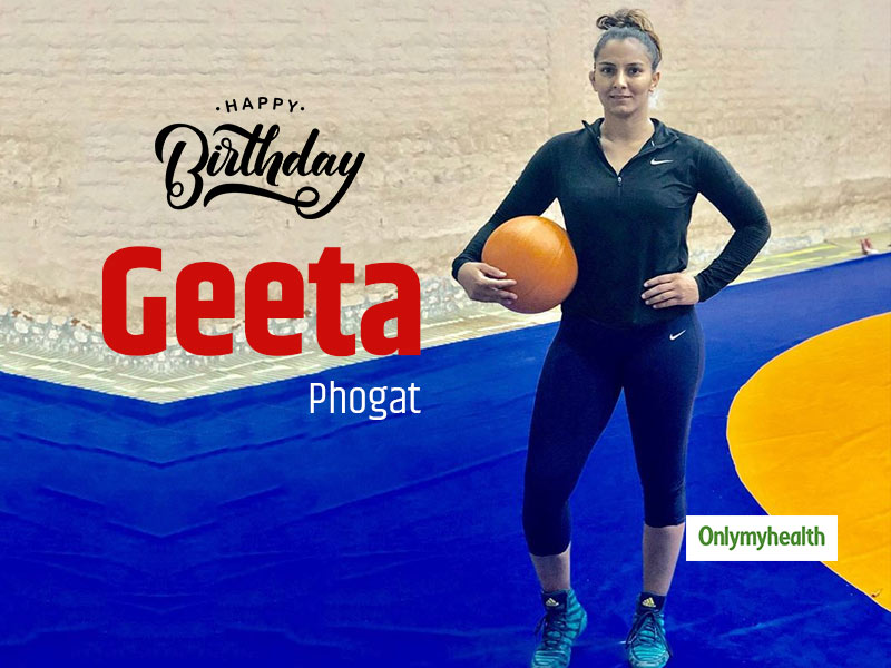 Happy Birthday Geeta Phogat: Here's The Diet And Workout Plan Of The 'Dangal Queen'