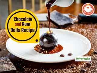 Christmas Special Recipe: Make This Delectable Chocolate And Almond Rum Balls At Home