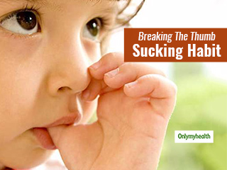 Help Your Baby Get Rid Of The Habit Of Thumb Sucking With These Simple <strong>Tips</strong>