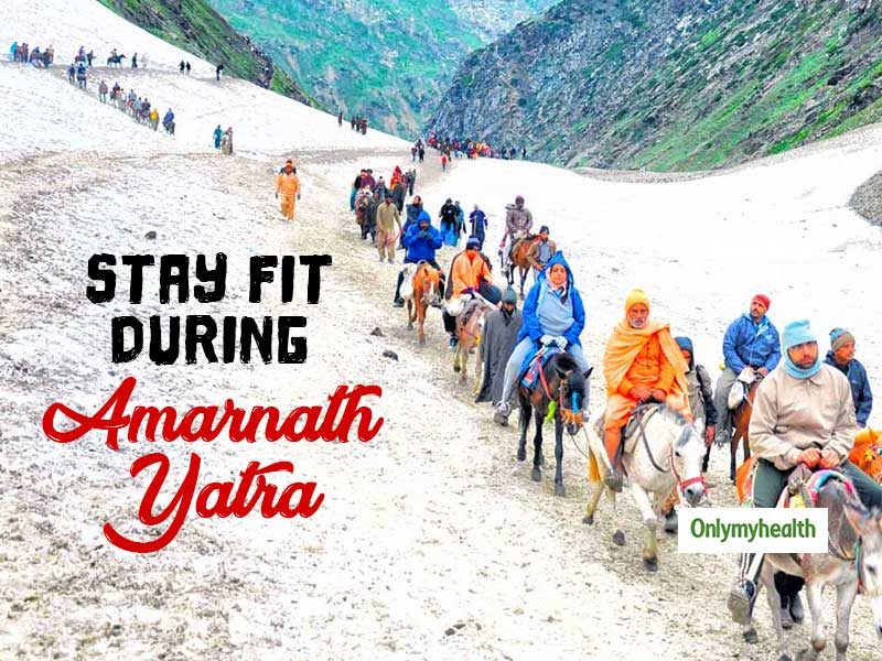 Amarnath Yatra 2019: Breathless pilgrims provided oxygen. How to Stay Fit at Elevation