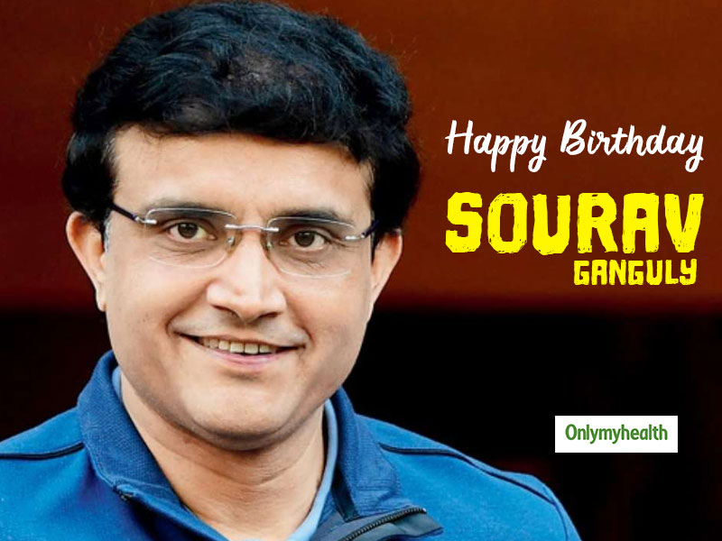 Happy Birthday Sourav Ganguly: Here's a Complete Guide to Dada's Diet and Fitness