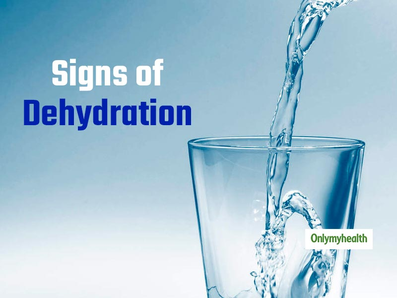 These signs and symptoms show that you are dehydrated.