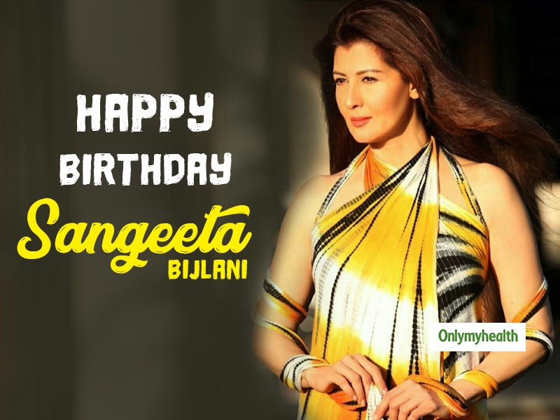 Happy Birthday Sangeeta Bijlani: The fitness regime of the Oye-Oye star is an inspiration for women in their half-ages.