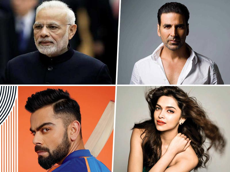 PM Modi, Akshay Kumar, Virat Kohli Make A Spot In The GOQii 2019 Health Influencers List