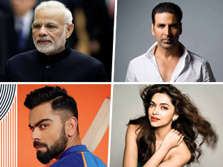 PM <strong>Modi</strong>, Akshay Kumar, Virat Kohli Make A Spot In The GOQii 2019 Health Influencers List