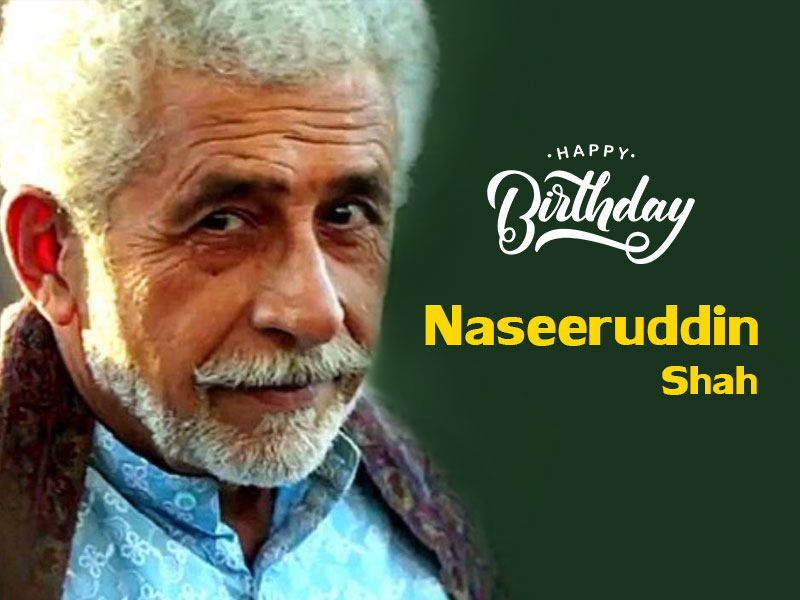 Happy Birthday Naseeruddin Shah: Age Is Just A Number, Style Is  Everything