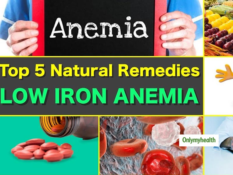 Top 5 natural remedy for iron-poor anemia
