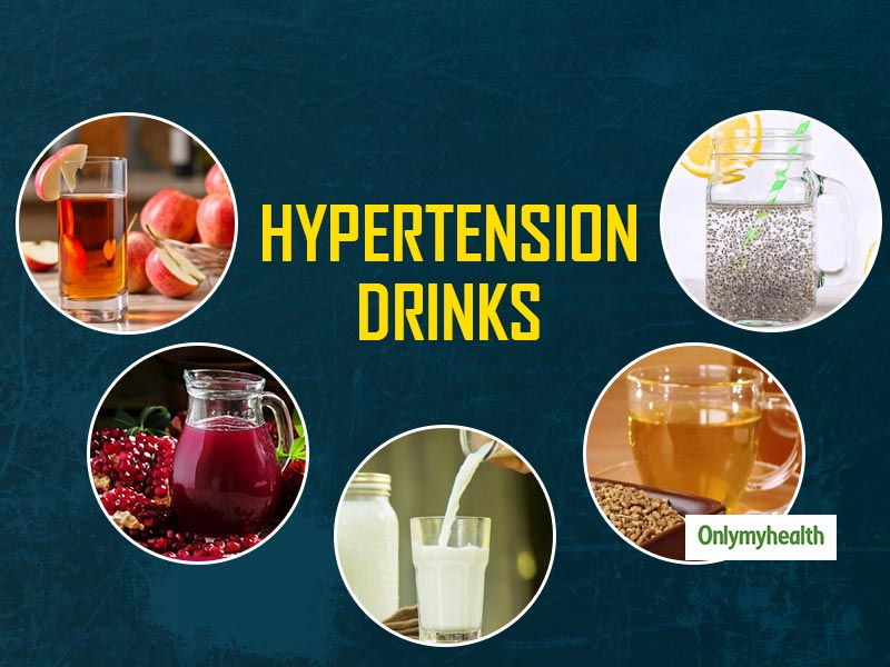5 Healthy Drinks To Prevent And Control Hypertension