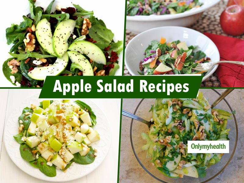Diabetes Fruit Diet Chart: 5 Apple Salad Recipes To Control Blood Sugar