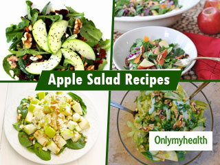 Diabetes Fruit Diet Chart: 5 <strong>Apple</strong> Salad Recipes To Control Blood Sugar