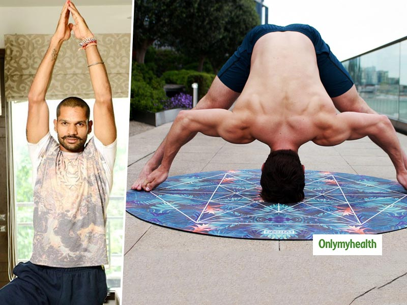 Shikhar Dhawan, Virat Kohli, all Swear by Yoga for Endurance. Here's how Yoga and Cricket Go Hand-In-Hand